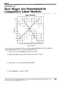 How Wages Are Determined in Competitive Labor Markets Worksheet