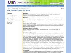 How Weather Effects Our World Lesson Plan