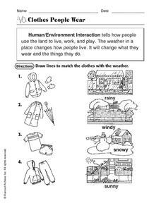 Collection Human Environment Interaction Worksheet Photos ...