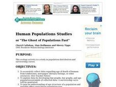 Human Populations Studies: the Ghost of Populations Past Lesson Plan