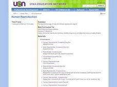 Human Reproduction Lesson Plan