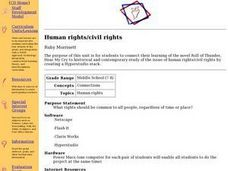 Human Rights/Civil Rights Lesson Plan