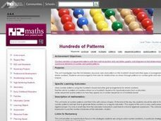Hundreds of Patterns Lesson Plan