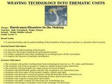 Hurricanes-Disasters In the Making Lesson Plan