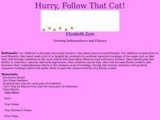 Hurry, Follow That Cat! Lesson Plan