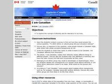 I am Canadian Lesson Plan