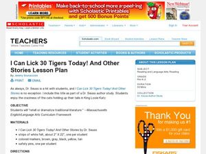I Can Lick 30 Tigers Today! And Other Stories Lesson Plan