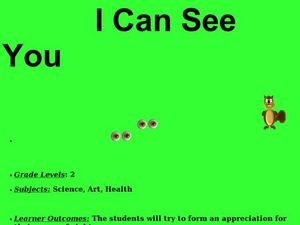I Can See You Lesson Plan