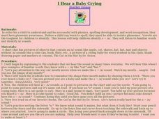 I Hear a Baby Crying Lesson Plan