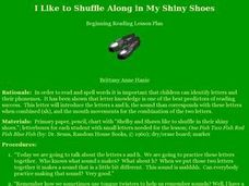I Like to Shuffle Along in My Shiny Shoes Lesson Plan