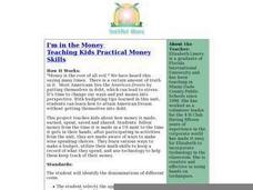 I'm in the Money - Practical Money Skills Lesson Plan
