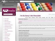 I'm So Sorry I Ate Chocolate Lesson Plan