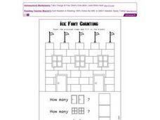 Ice Fort Counting Worksheet