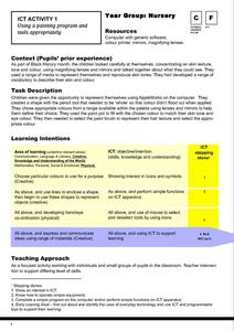 Ict Activity 1 Lesson Plan