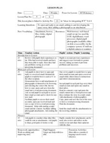 ICT/Literacy Lesson Plan