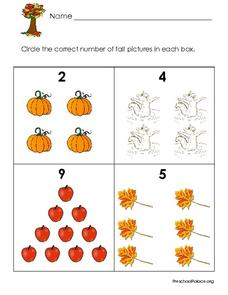Identify Numbers of Fall Objects Lesson Plan