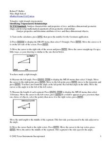 Identifying Trigonometric Realationships Lesson Plan