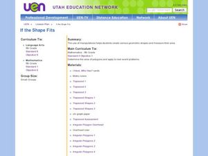 If the Shape Fits Lesson Plan