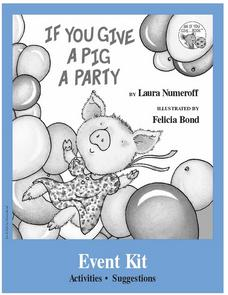 If You Give A Pig A Party Lesson Plan
