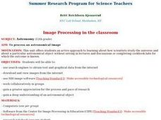 Image Processing in the Classroom Lesson Plan