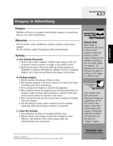 Imagery in Advertising Lesson Plan