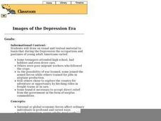 Images of the Depression Era Lesson Plan