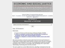 Imagine a Country: Human Rights Lesson Plan