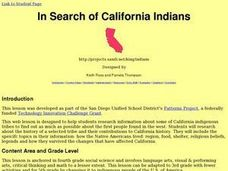 In Search of California Indians Lesson Plan