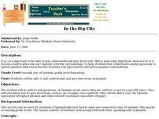In the Big City Lesson Plan