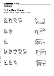 In the Dog House Worksheet