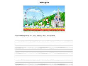 In the Park Worksheet