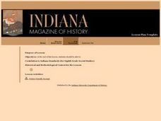 Indiana Lesson Plan