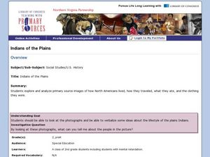 Indians of the Plains Lesson Plan