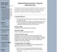 Industrial Measurement: Using the Industrial Ruler Lesson Plan