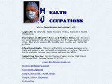 Infection Control/Workplace Safety Lesson Plan