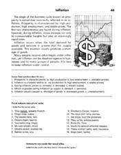 Inflation Lesson Plan