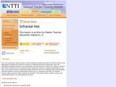 Infrared-Hot Lesson Plan