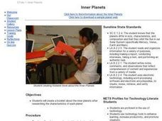 Inner Planets Lesson Plan