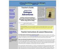 Instead of Said: Dialogue Adventures Lesson Plan