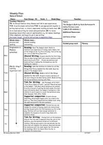 Instructions in Sequential Steps Lesson Plan