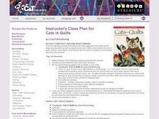 Instructors Lesson Plan for Cats in Quilts Lesson Plan