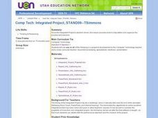 Integrated Project Lesson Plan