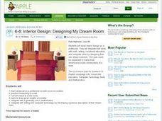 interior design designing my dream room 6th 8th grade lesson plan