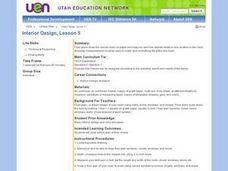 interior design lesson 5 9th 11th grade lesson plan
