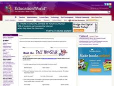 "Internet Fact Hunt at the ""Fact Monster"" Web Site- December #2 Worksheet"