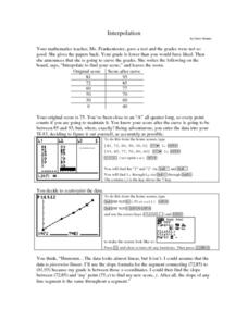 Interpolation Lesson Plan