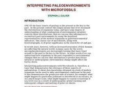 Interpreting Paleoenvironments With Microfossils Lesson Plan