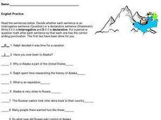 Interrogative Sentences Worksheets 4th Grade - Worksheets