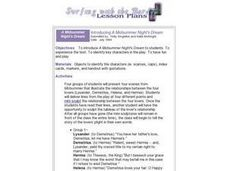 "Introducing ""A Midsummer Night's Dream"" Lesson Plan"