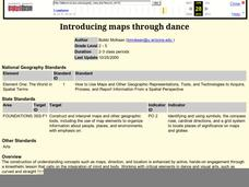 Introducing Maps Through Dance Lesson Plan